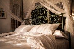 Decorative pillow natural Fabric Royalty Free Stock Photo