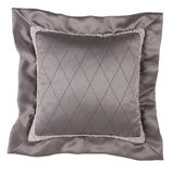 Decorative Pillow in victorian style isolated on white backgroun Stock Photo
