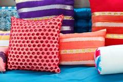 Decorative pillows Stock Photos