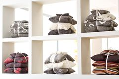 Decorative pillows Stock Photography