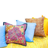 Decorative pillows Stock Images