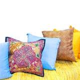 Decorative pillows Stock Images