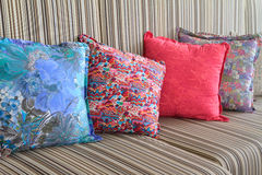 Decorative pillows Royalty Free Stock Photography