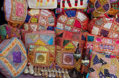 Decorative pillows Royalty Free Stock Photos