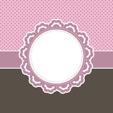 Decorative pink background royalty free illustration