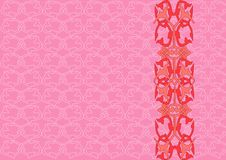 Decorative pink background Royalty Free Stock Photos