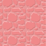 Pink brick seamless texture Royalty Free Stock Photos