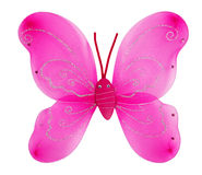 Decorative pink butterfly wings Royalty Free Stock Photos