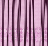 Decorative pink fabric Royalty Free Stock Image