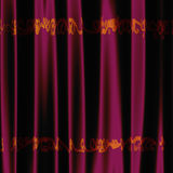 Decorative pink fabric Royalty Free Stock Photography