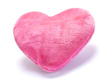 Decorative pink pillow Royalty Free Stock Photography