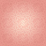 Decorative pink template Royalty Free Stock Photo