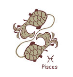 Decorative pisces Stock Photography