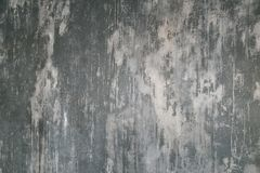 Decorative plaster. Artificial concrete. The texture of the gray concrete wall. royalty free stock photography