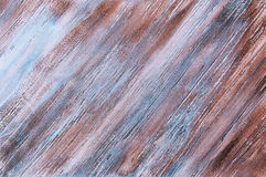 Decorative plaster. Beautiful decorative plaster brown blue pattern Stock Photo