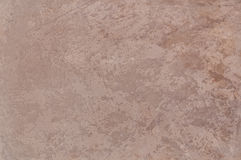 Decorative plaster. Beautiful decorative plaster brown pattern Royalty Free Stock Images
