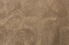 Decorative plaster. Beautiful decorative plaster brown pattern Royalty Free Stock Photography
