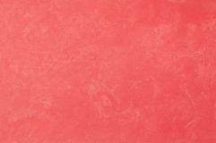 Decorative plaster. Beautiful decorative plaster red pattern Royalty Free Stock Image