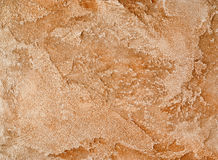 Decorative plaster brown Stock Images