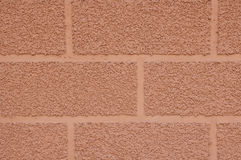 Decorative plaster imitating brick wall Royalty Free Stock Image