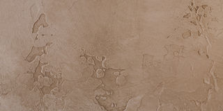 Decorative plaster with marked relief in antique style Royalty Free Stock Image