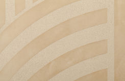 Decorative plaster with marked relief in the modern style Stock Photography