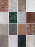 Decorative plaster patterns Stock Photography