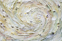 Decorative plaster - sea whirlpool Stock Images