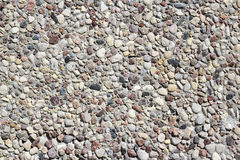Decorative plaster of stones. Royalty Free Stock Images