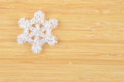 Decorative plastic snowflake Stock Photography