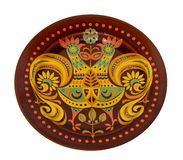 Decorative plate Royalty Free Stock Image