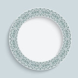 Decorative plate Royalty Free Stock Photos