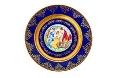 Decorative plate Stock Photography