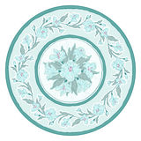 Decorative plate Stock Images