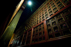 Decorative Potala Palace wall Stock Photo