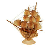 Decorative product from sea cockleshells Stock Photography