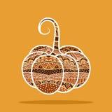 decorative pumpkin Στοκ εικόνα με δικαίωμα ελεύθερης χρήσης