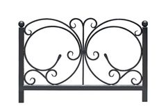 Decorative railing. Stock Image
