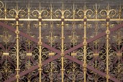 Decorative Railings Stock Image