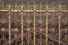 Decorative Railings. Of the Albert Memorial in Hyde Park; London Stock Image