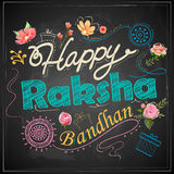 Decorative Rakhi for Raksha Bandhan background Stock Images