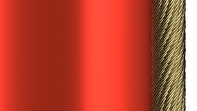 Decorative red background with Royalty Free Stock Photography