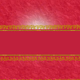 Decorative red background with place for text Stock Images