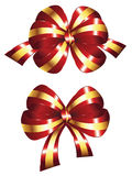 Decorative Red Bow Royalty Free Stock Images
