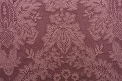 Decorative red fabric pattern Royalty Free Stock Photo