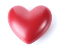 Decorative red heart Royalty Free Stock Photography