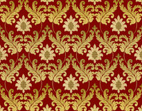 Decorative red renaissance background Stock Photo