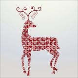 Decorative reindeer Stock Photo