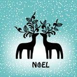 Decorative reindeer Stock Photos