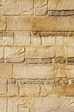 Decorative relief brown and ecru plaster Stock Photo